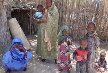 Wakimbizi wa ndani nchini Chad. Picha ya OCHA/Mayanne Munan