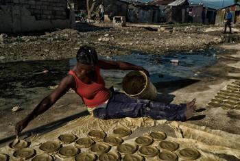 Mwanamke nchini Haiti. Picha ya UN/Logan Abassi