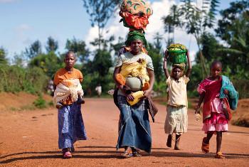 Wakimbizi wa Burundi.Picha:UNHCR