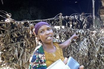 Mmoja wa wamama wajane kutoka Tanzania.(Picha:Idhaa ya Kiswahili/N.Ngaiza)