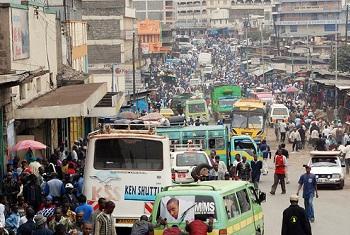 Mtazamo wa mji wa Nairobi maeneo ya chini ya mji mkuu.(Picha:Julius Mwelu/UN-Habitat)