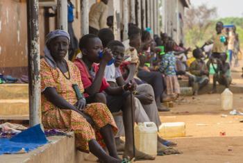 Wakimbizi kutoka Sudan Kusini waliokimbilia nchini Uganda.(Picha:UNHCR/I. Kasamani)