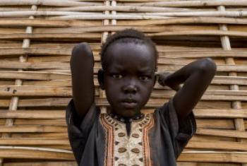 Mtoto mkimbizi Sudan Kusini:Picha na FAO