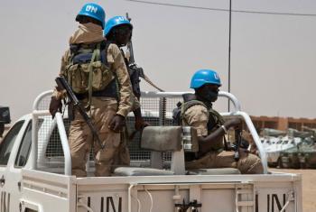 Walinda amaani wa UM katika doria Kidali, Mali. Picha: MINUSMA/Blagoje Grujic