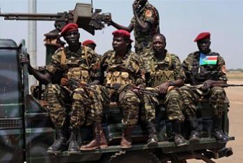 Jeshi la SPLA Sudan Kusini. Picha:IRIN/Hannah McNeish