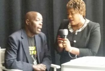 Mahojiano na Edward Mpagi kuhusu adabu ya kifo. Picha: UN/Video capture