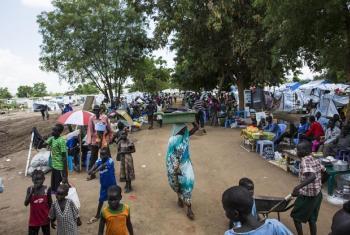 Kituo cha muda cha kuhifadhi raia cha Tomping, huko Juba, Sudan Kusini. (Picha:UN/Isaac Billy)