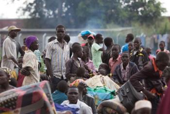 Wakimbizi wanaowasili katika kituo cha Elego Kaskazini Uganda.(Picha:UNHCR /Will Swanson)