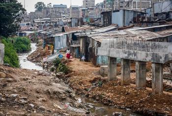 Mtaa duni wa mabanda, Mathare nchini Kenya.(Picha:Julius Mwelu/ UN-Habitat