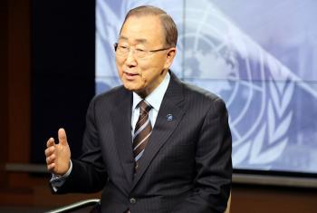 Katibu Mkuu wa Umoja wa Mataifa Ban Ki-moon.(Picha:UM/ Runa A)