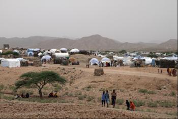 Kambi ya wakimbizi wa ndani. Picha: UNHCR