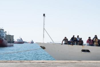 Manusura waokolewa Mediterranea. Picha: UNHCR/Patrick Russo