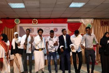 Vijana Somalia wamo tayari kushirikiana na serikali ili kukabiliana na ukatili wa kijinsia. Picha: AMISOM