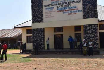 MONUSCO yakabidhi jengo jipya la hospitali DRC.(Picha:MONUSCO)