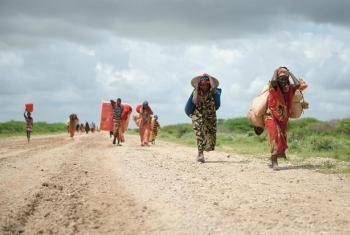 Maelfu ya wakimbizi watawanywa na mafuriko Somalia.