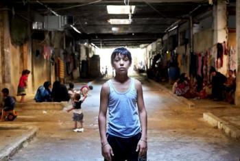 Mkimbizi Mahmoud kutoka Syria aliyekimbilia Lebanon.(Picha:UNHCR/S.Baldwin)