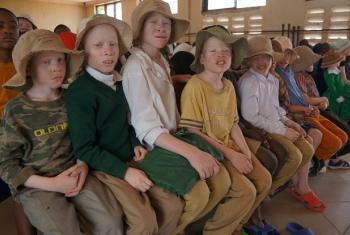 Haki za albino. Picha: UNHRC
