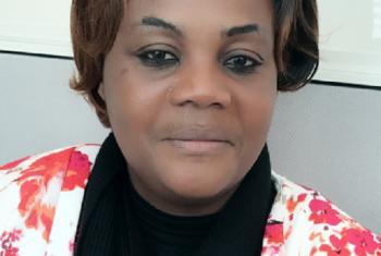 Dr Micrette Ngalua Tshanda, mtaalamu wa masuala ya wanawake Lubumbashi DR Congo. Ameanzisha hospitali ya kina mama na watoto inayotoa huduma bure.Picha na UN News Kiswahili