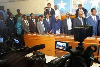 Umoja wa Mataifa umekaribisha hatua ya Bunge la Somalia kupitisha Baraza la Mawaziri.(Picha:UNSOM)