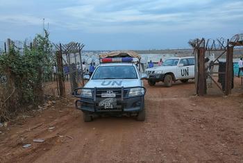 Sudan Kusini yasifiwa kuondoa vizuizi barabarani.(Picha:UNMISS)