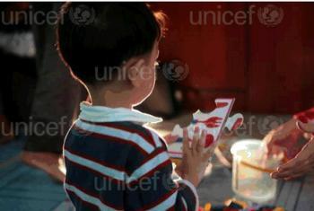UNICEF inafadhili miradi ya kutoa huduma kwa watoto wenye usonji.(Picha:UNICEF)