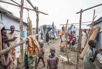 Makazi ya wakimbizi wa ndani Malakal,Sudan Kusini.(Picha: IOM/Bannon)