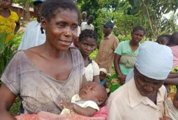 Raia wa DRC kijijini cha Kasai. Picha: OCHA