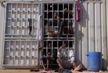 Wahamiaji wa Afrika waliokuwa wamekwama nchini Libya wasaidiwa kurudi kwao. Picha: IOM/Video capture