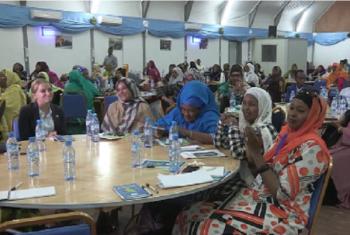 Wabunge wanawake nchini Somalia wakutana mjini Mogadishu. Picha: UNSOM