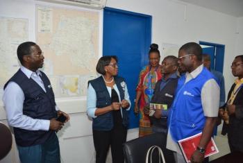 Serikali ya DRC yaunda kikosi kazi kinachoshirikisha shirika la afya ulimwenguni WHO na lile la watoto, UNICEF ili kukabiliana na mlipuko wa Ebola. Picha: WHO
