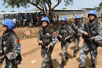Walinda amani wa UNMISS awali wakiokoa raia sita Yei nchini Sudan Kusini.