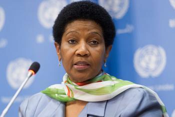 Mkurugenzi Mtendaji wa UNWomen, Phumzile Mlambo-Ngcuka. (Picha:UN/Mark Garten)