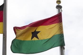 Bendere ya Ghana. Picha: UM/Loey Felipe