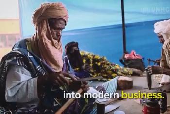 Wakimbizi wajasiriamali wa Mali walioko nchini Burkina Farso. Picha: UNHCR/Video capture