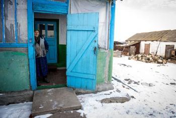 Waathirka wa vita vinavyoendelea Ukraine Mashariki. Picha: IOM/UN/Volodymyr Shuvayev
