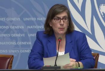 Bi. Liz Throssell, msemaji wa Ofisi ya UNHCR.