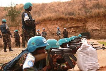 Walenga shabaha wa UNAMID kikosi cha Tanzania.