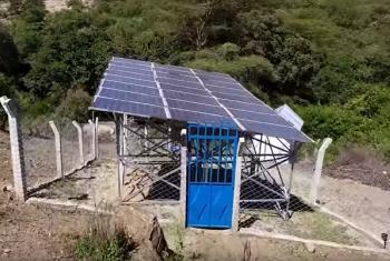 Mradi wa nishati ya jua nchini Tanzania.(Picha:Benki ya dunia/video capture)