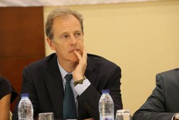 Msaidizi wa Katibu Mkuu kuhusu haki za binadamu, Andrew Gilmour. Picha: MINUSCA