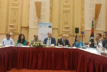 Mkutano uliofanyika Tunis, Tunisiawa wa kujadili afya ya wahamiaji nchini Libya. Picha: IOM