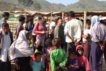 Raia jijini Rackhine, Myanmar. Picha: UNHCR