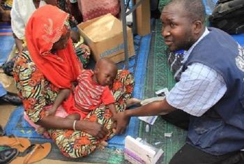 Juhudi za kukabiliana na mlipuko wa ugonjwa wa Kipindupindu kaskazini-mashariki mwa nchini Nigeria. Picha: WHO