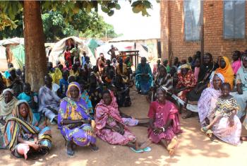 Wakimbizi wa ndani katika kambi ya Lokoloko nchini Sudan kusini. Picha: UNMISS