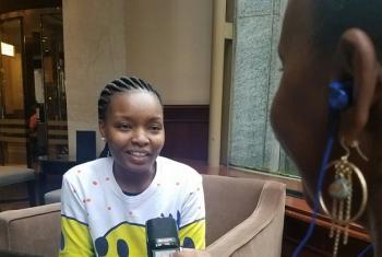 Rebecca Gyumi, muasisi na mwenyekiti wa Msichana Initiative. Picha: UM/Idhaa ya Kiswahili