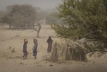 Wakimbizi wa ndani katika kambi ya IDPs huko Mellia, Tchad. Picha: OCHA / Ivo Brandau