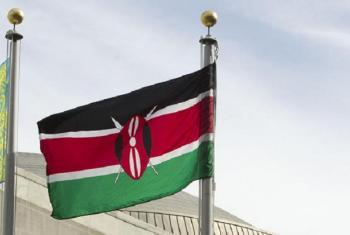 Bendera ya Kenya: Picha: UM/Loey Felipe