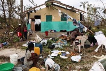 Uharibifu uliosababishwa na kimbunga Matthew Haiti. Picha: UM