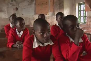 Wanafunzi darasani nchini Tanzania. Picha: UNICEF Video capture