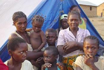 Wakimbizi nchini DRC. Picha: © UNHCR/M.Brook