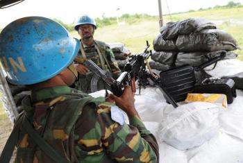Walinda amani wa UNMISS wapiga doria Jonglei nchini Sudan Kusini.